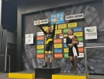 Direct Energie's Jonathan Hivert pictured on the podium following his victory on stage three of the Paris-Nice today. Photo: @ParisNice