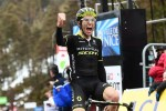 Simon Yates won the 175km seventh stage of the Paris-Nice today. Photo: @ParisNice