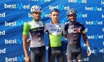 Team Dimension Data's Matteo Sobrero won the 134km fourth stage of the Tour of Good Hope today. Photo: Tour of Good Hope