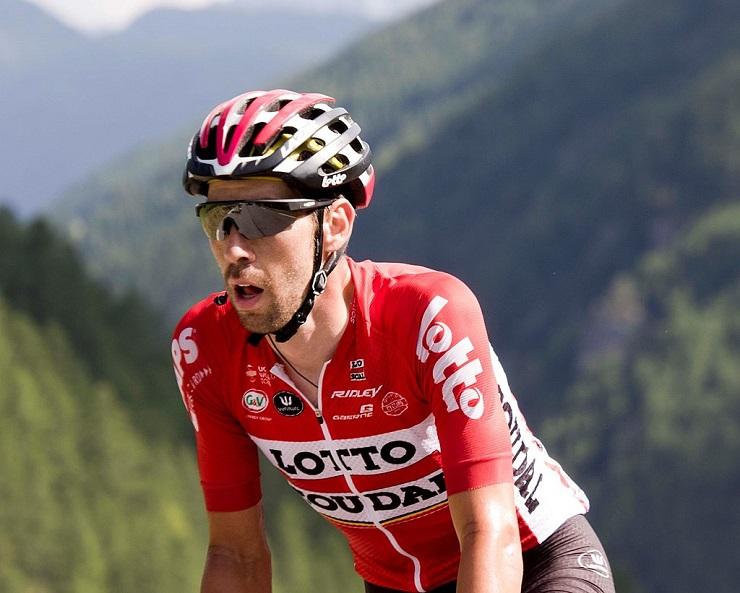 Thomas de Gendt during Tour de France