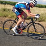 Andrew Edwards, pictured here, won stage two of the Tour de Limpopo in Tzaneen today. Photo: Supplied