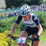 England's Annie Last, pictured here at the 2012 Olympics, won the Commonwealth Games women's cross-country event at the Nerang MTB Trails in Gold Coast today. Photo: Wikimedia