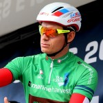 Alexander Kristoff, pictured here, won the Eschborn-Frankfurt in Germany today. Photo: Photo credits