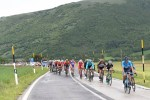 A bunch of riders in action during stage 10 of the Giro d'Italia. Photo: Fabio Ferrari/LaPresse