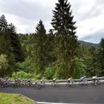 Team Sky's Chris Froome won stage 19 of the Giro d'Italia atop Monte Jafferau today. Photo: Fabio Ferrari/LaPresse