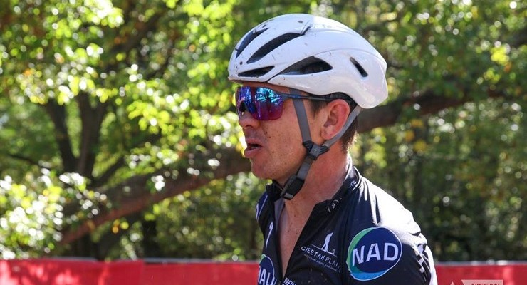 NAD Pro's Nico Bell was happy to secure a win on home soil in the opening Trailseeker Series event at Buffelsdrift, Gauteng, on Saturday. Photo: Charmain van Zyl