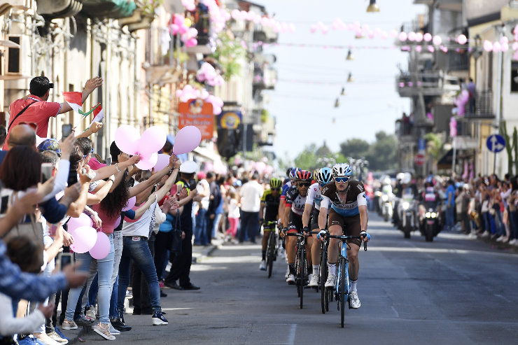 Stage si action of Giro dItalia