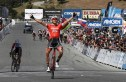 Trek-Segafredo's Toms Skujins won the 197km third stage of the Tour of California yesterday. Photo: Getty Images