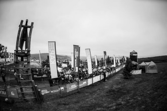 Riders line up for the start of day two of sani2c Adventure