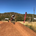 Candice Lill won the fourth SA MTB Cup Series XCO event