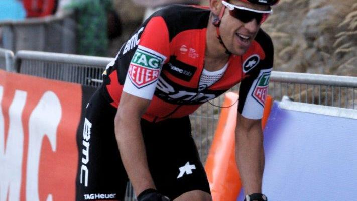 BMC Racing's Richie Porte (Australia) extended his race lead after stage six of the Tour de Suisse. Photo: Photo credits