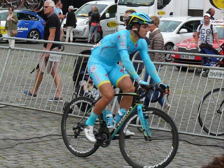 Astana Pro's Alexey Lutsenko won the 167.4km sixth stage of the Tour of Austria today. Photo: Photo credits