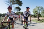 South Africa's Ashleigh Moolman-Pasio (left) will lead her Cervélo Bigla team throughout the 10-stage Giro Rosa