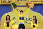 Team Sky's Geraint Thomas made history when he claimed his maiden Tour de France win in Paris today