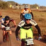 Jason Meaton (pictured) and Shannon Kirkhoff won the 58km Grahamstown 2 Sea mountain-bike race today. Photo: Supplied