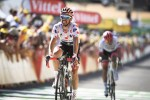 Quick-Step Floors' Julian Alaphilippe, who leads the mountains classification, won stage 16 of the Tour de France