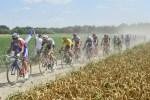 Trek–Segafredo's John Degenkolb sprinted to victory on the 156.5km ninth stage of the Tour de France in Roubaix today. Photo: ASO/Alex Broadway