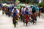 Bahrain–Merida's Giovanni Visconti won the 143km fourth stage of the Tour of Austria today. Photo: Photo credits