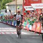 Bahrain-Merida's Matej Mohoric, pictured here at the Vuelta a Espana last year, clinched the BinckBank Tour title when the seventh and final stage concluded today. Photo: Photo credits