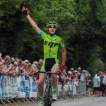 South Africa's Morné van Niekerk, who rides for French team Christian Magimel, won the Route d'Or du Poitou