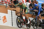 Teenager Rickardo Broxham (pictured) learnt many lessons and also reaped some career-changing rewards at the Junior World Track Championships last week. Photo: Clement Barre