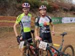 Philip Buys (left) and Pieter du Toit won the third and final stage and with it the overall title of The Magoeba, which finished today. Photo: facebook.com/magoebaskloofmtb