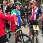 South Africa's Alan Hatherly won the men's under-23 UCI Mountain Bike World Championships in Lenzerheide, Switzerland, today. Photo: UCI