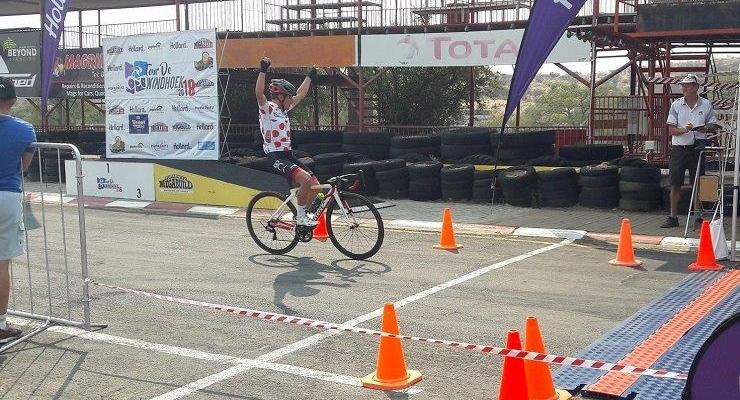 BCX's David Maree (pictured) won the fifth and final stage of the Tour de Windhoek today. Photo: facebook.com/Racedaynam