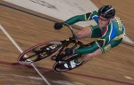 Hylton Belitzky will show off South Africa's colours at the UCI Masters Track Cycling World Championships this weekend. Photo: Supplied