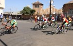 Riders in action during the Africa Cup criterium yesterday. Photo: Twitter/@ZXCycling