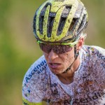 Robyn de Groot enjoyed an emotional victory at the 947 Mountain Bike Challenge today. Photo: Twitter/@robyndegroot