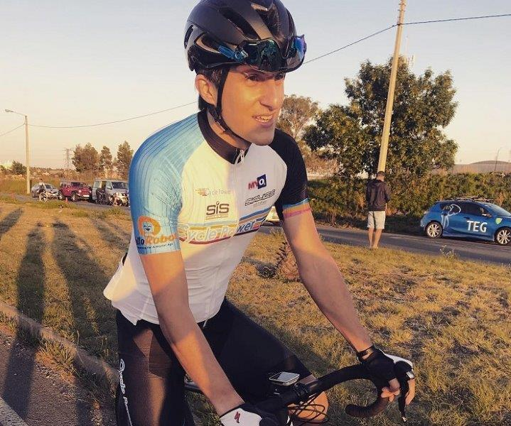 James Barnes has embraced the opportunity to develop further as a cyclist after joining Cycle Power for 2019. Photo: Supplied