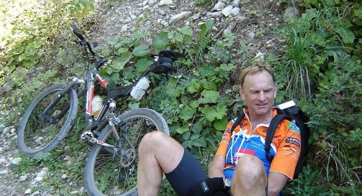 The curator of the world-famous Kirstenbosch National Botanical Garden, Philip le Roux (pictured), died today of injuries he sustained in a collision with a car while cycling earlier this month. Photo: Twitter/@TableMTB