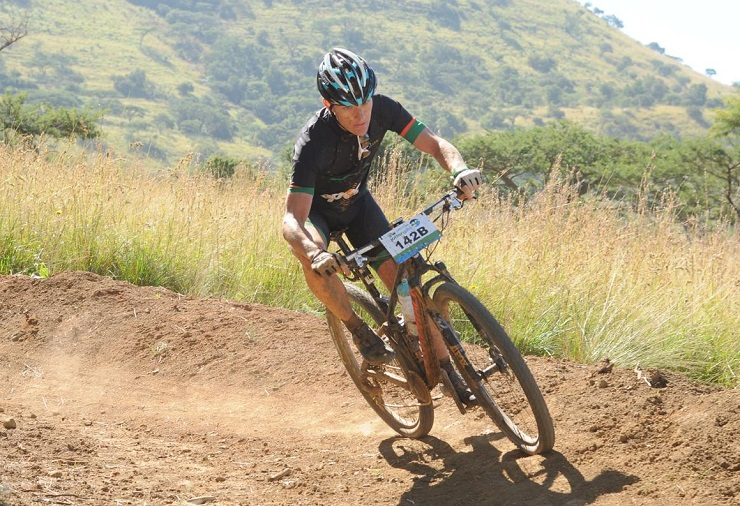 Alan Gordon (pictured) was pleased to secure another second place at the Barberton XCM MTB Challenge at the weekend. Photo: Supplied