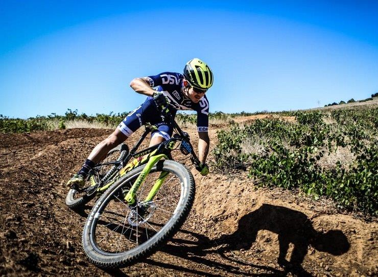 DSV's Arno du Toit is hoping to garner valuable UCI points at the first SA MTB Cup Series cross-country event, which boasts a record number of entrants. Photo: Meraki Media