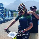 Candice Lill won the women's race at the Big Five MTB Challenge