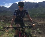 Renowned South African mountain-biker Robyn de Groot (pictured) is on the road to recovery after surgery to address blood-flow problems. Photo: Supplied