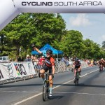 Eighteen-year-old Tiffany Keep won the U23 time-trial and road race titles at the SA road championships
