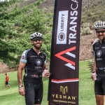 Damien Ingram and Stuart Catchcart won the 98km fourth stage of the TransCape MTB Encounter today. Photo: Jacques Marais