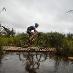 Ben Melt Swanepoel (pictured) and Jan Withaar won the Cradle Traverse