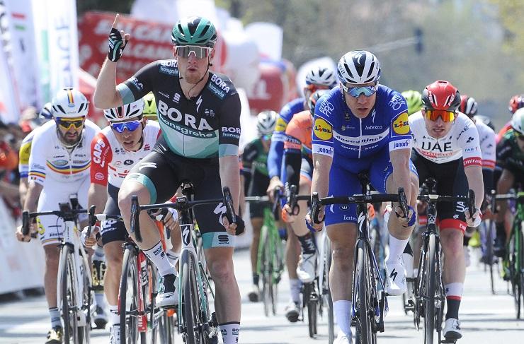 Sam Bennett won stage one of the Tour of Turkey