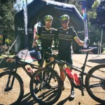Andrew Hill (left) and Shaun-Nick Bester won this year's joBerg2c