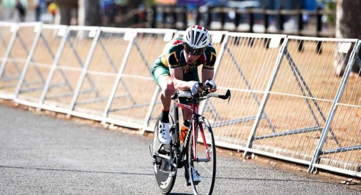 Juan Odendaal is hoping for a top-10 finish when he competes at the UCI Para-Cycling Road World Cup