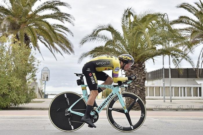 Primoz Roglic took this year's Tour de Romandie title
