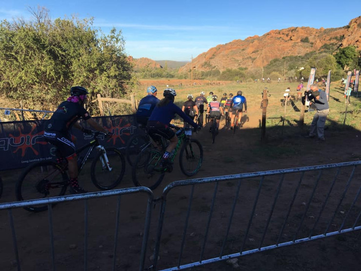 Redstone Mountain Bike Weekend 11km night ride start