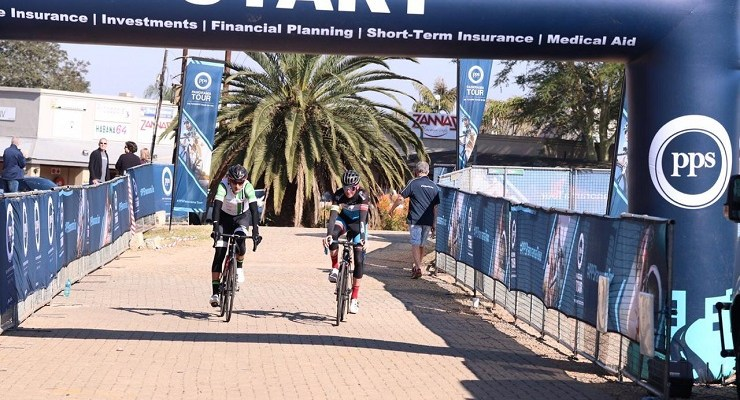Andrew Edwards (right) and Calvin Beneke won their first Panorama Tour