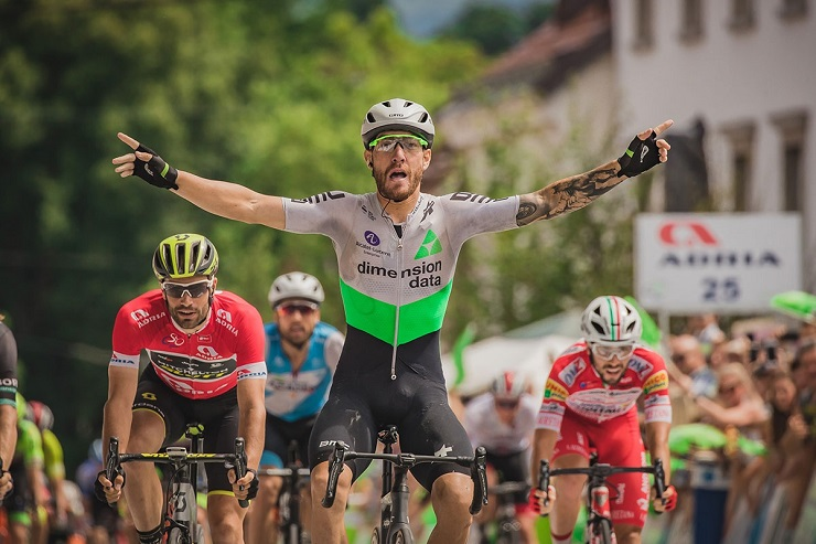 Giacomo Nizzolo won the final stage of the Tour of Slovenia