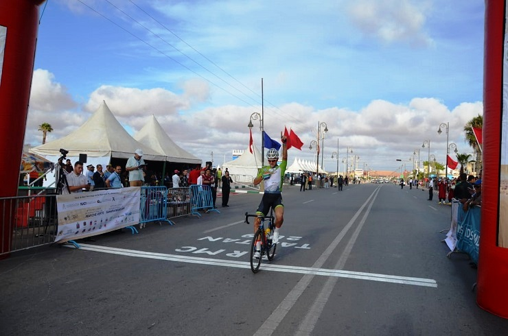 South African Jason Oosthuizen won the GP Oued Eddahab