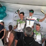 Tiano Da Silva claimed double gold at last weekend's youth road championships