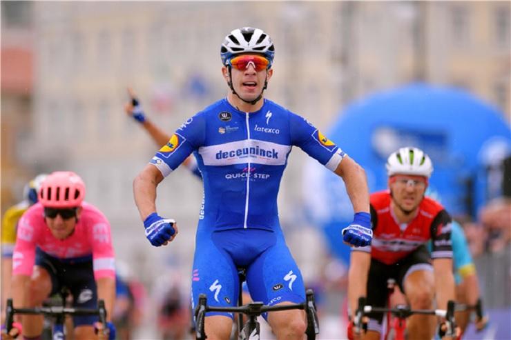 Alvaro Hodeg won the fifth stage of the BinckBank Tour